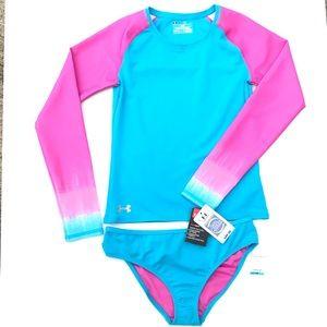 73ee653259e44 Under Armour Swim | Nwt Infant Baby Girl Suit Bikini | Poshmark